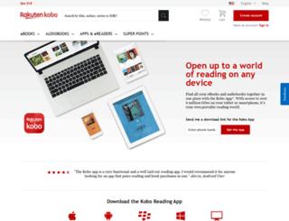 read.kobobooks.com screenshot
