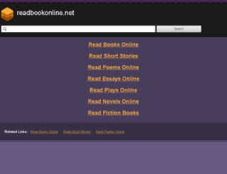 readbookonline.net screenshot