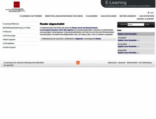 reader.uni-mainz.de screenshot