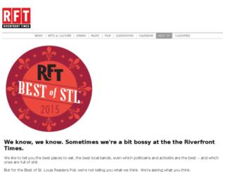 readerschoice.riverfronttimes.com screenshot