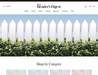 readersdigeststore.com screenshot