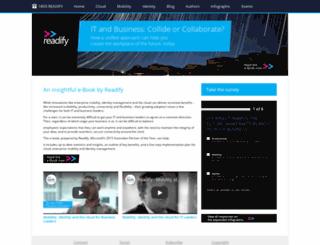 readify.devave.com screenshot