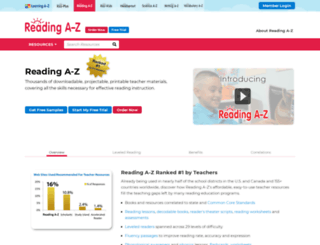 reading-tutors.com screenshot