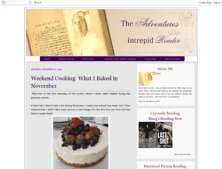 readingadventures.blogspot.com screenshot