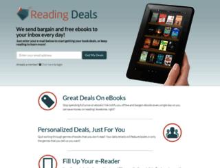 readingdeals.com screenshot
