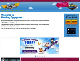 readingeggspress.com screenshot