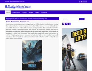 readingislamiccentre.com screenshot