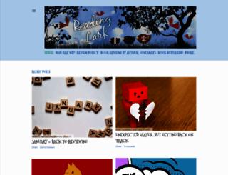 readinglark.blogspot.ca screenshot
