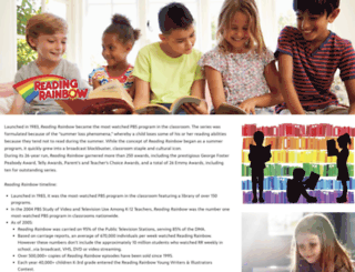 readingrainbow.com screenshot