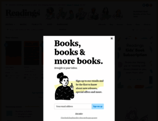 readings.com.au screenshot