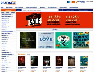 readings.com.pk screenshot