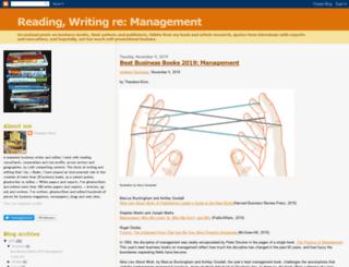 readingwritingmanagement.blogspot.de screenshot