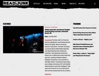 readjunk.com screenshot