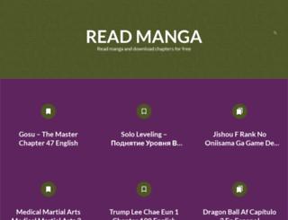 readmanga.pw screenshot