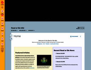readordie.wikia.com screenshot