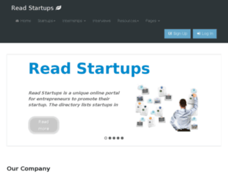 readstartups.com screenshot