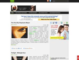 readtwilightsagaonline.blogspot.in screenshot