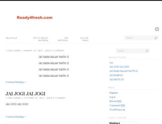 ready4fresh.com screenshot