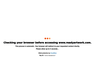 readyartwork.com screenshot