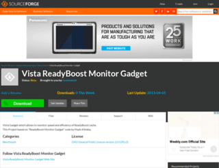 readyboostgadge.sourceforge.net screenshot