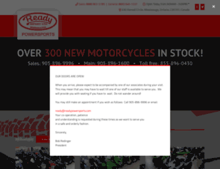 readyhondapowerhouse.com screenshot