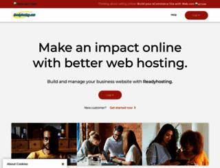 readyhosting.com screenshot