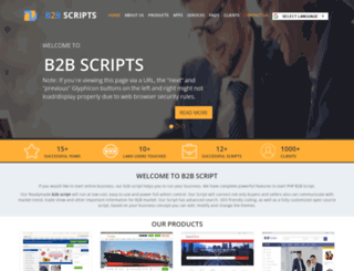 readymadeb2bscript.com screenshot