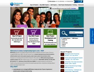 readymadeproject.com screenshot