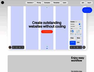 readymag.com screenshot