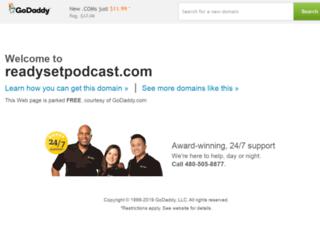 readysetpodcast.com screenshot