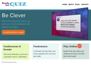 readysetquiz.com screenshot