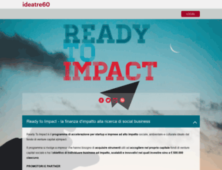 readytoimpact.ideatre60.it screenshot