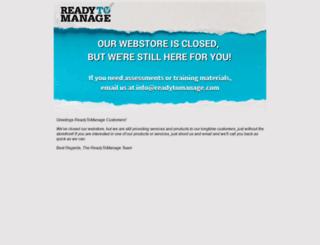 readytomanage.com screenshot