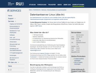 reaktiveplasmen.rub.de screenshot