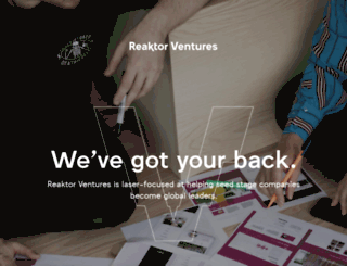 reaktorventures.com screenshot