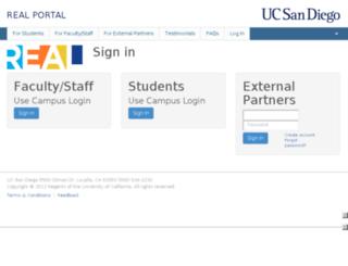 Access real-app ucsd edu  REAL