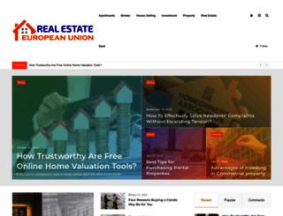 real-estate-european-union.com screenshot
