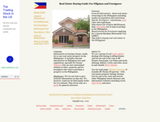 real-estate-guide.philsite.net screenshot