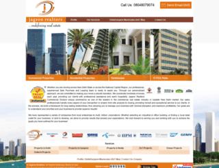 real-estate-india.com screenshot