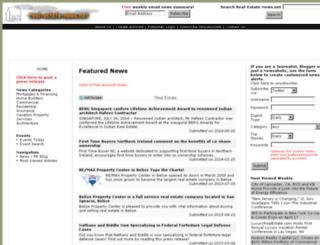 real-estate-news.net screenshot