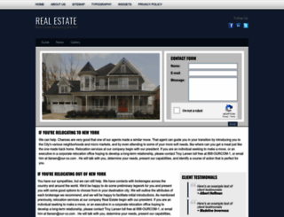 real-estate-website-template-cms.seotoaster.com screenshot