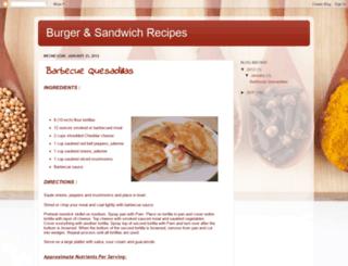 real-hunger-recipes.blogspot.com screenshot