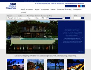 real-samui-properties.com screenshot