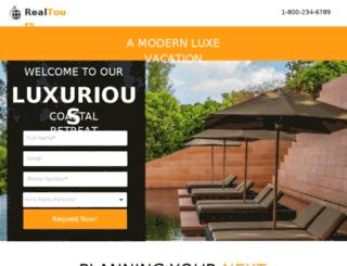 real-tour-leadgen.designer.instapage.com screenshot