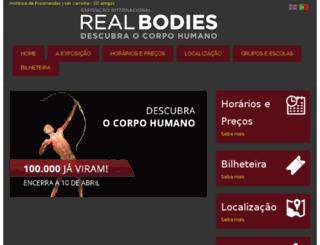 realbodies.pt screenshot