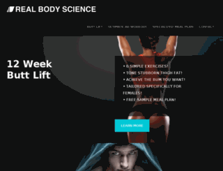 realbodyscience.com screenshot