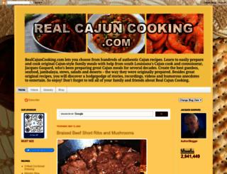 realcajuncooking.com screenshot