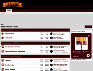 realcavsfans.com screenshot