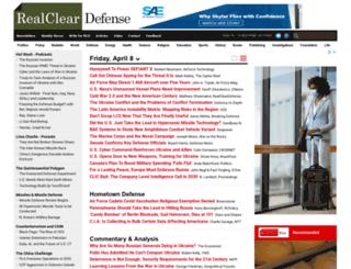 realcleardefense.com screenshot