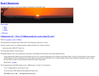 realclimategate.org screenshot
